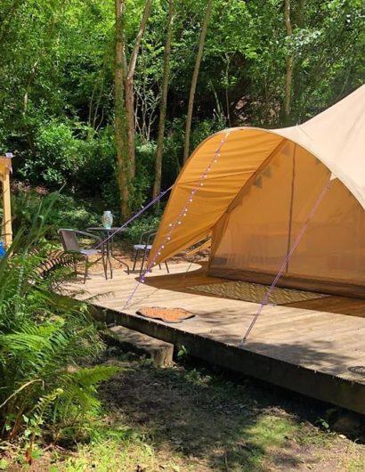 Bell Tents Camping, Bideford, UK