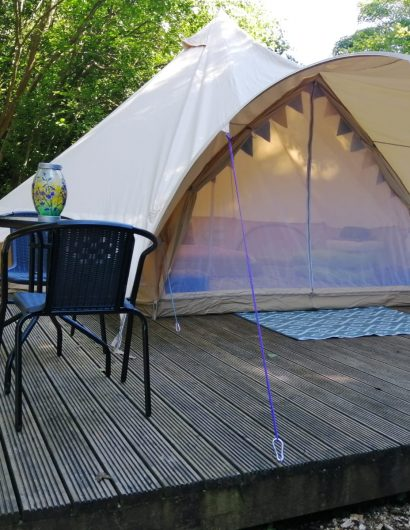 Camping Tent Accomodation at Owl Valley Glamping