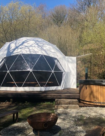 Geodome In Nature, Owl Valley Glamping