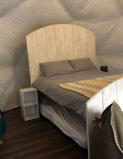 Long Eared Geodome Glamping Accomodation