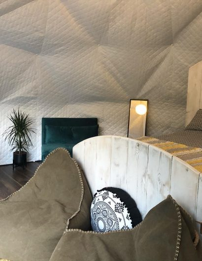 Camping Geodome Accommodation